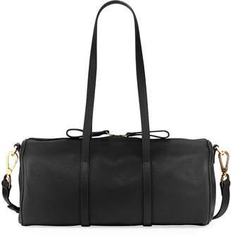 Mansur Gavriel Pebbled Leather Mini Duffel Bag