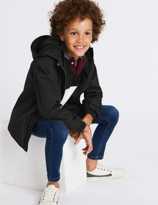 Marks and Spencer Hooded Tech Jacket (3-16 Years)