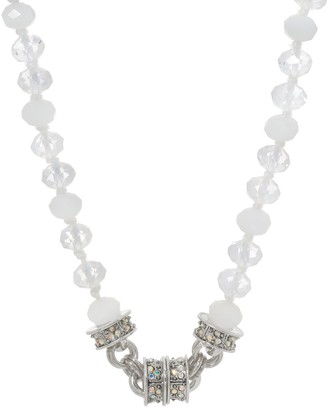 Kirks Folly Cloud Opal Beaded Magnetic Necklace