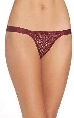 Free People Intimately FP Abigail Lace Thong