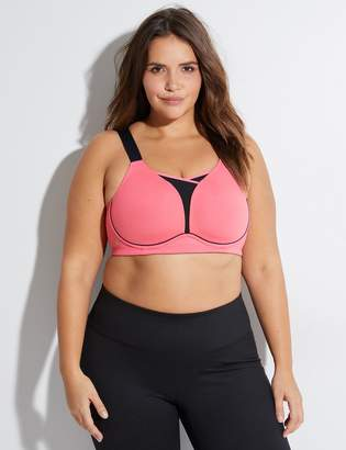 f6de279dedeb8 Lane Bryant Medium Impact Cooling No-Wire Sport Bra