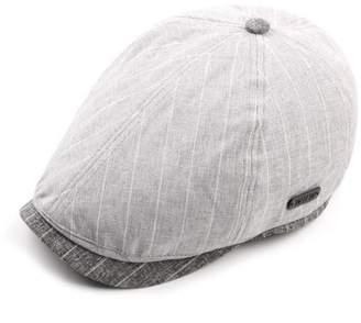 9bba81500fd AET Cap Men s Spring Summer Vintage Striped Retro Hat Newsboy Cap