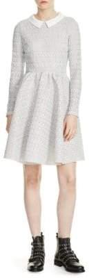 Maje Rayone Knit Dress