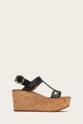 Frye Dahlia Rivet Wedge