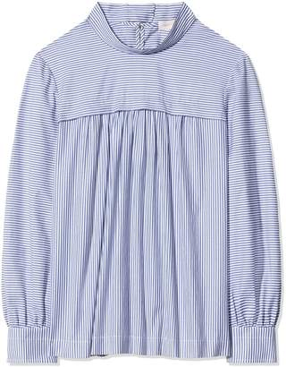 Tory Burch COTTON BOW-BACK BLOUSE
