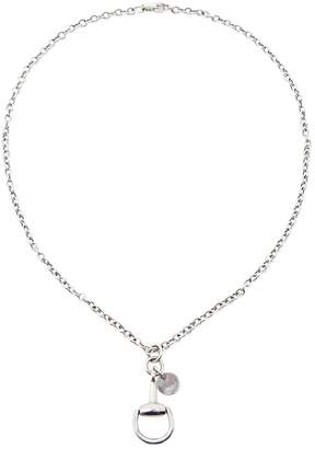 Gucci Mors white gold necklace