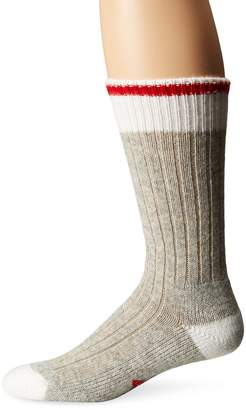Wigwam Men's Hudson Bay Midweight Classic Fashion and Function Crew Sock