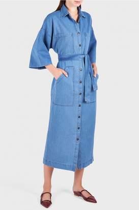Mara Hoffman Amelia Denim Dress