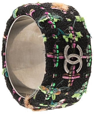 Chanel Pre-Owned Tweed Bangle