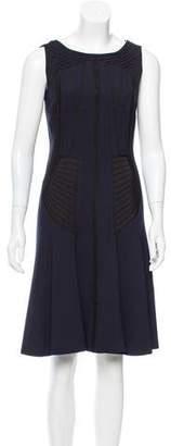 Alberta Ferretti Sleeveless Knee-Length Dress