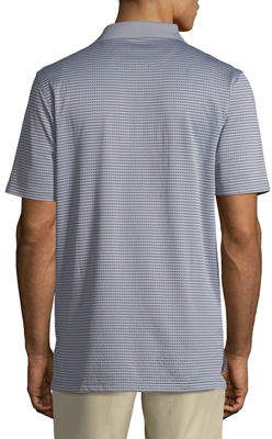 Bobby Jones XH2O Staten Micro-Grid Jacquard Polo Shirt