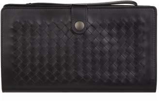 Bottega Veneta Leather Intrecciato Multi-Functional Case