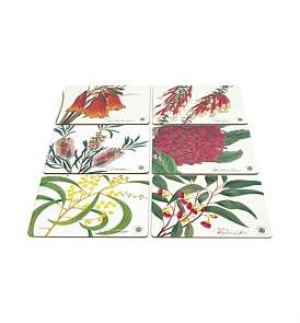 Maxwell & Williams Botanic Placemats Set Of 6 Assorted