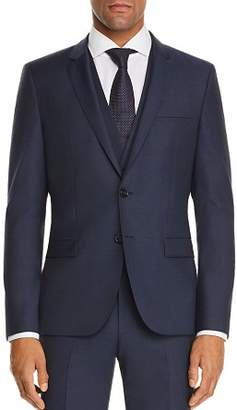 HUGO Arti Micro-Pattern Slim Fit Suit Jacket