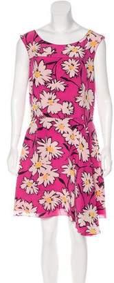 Nina Ricci Silk Sleeveless Dress
