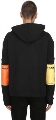 Raf Simons Cotton Jersey Sweatshirt W/ Sleeves