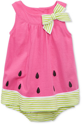 First Impressions Baby Girls' Watermelon Sunsuit, Only at Macy's $18 thestylecure.com