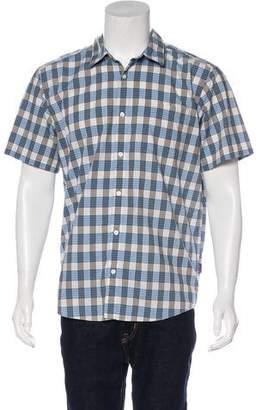 Patagonia Plaid Button-Up Shirt