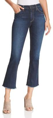 AG Jeans Jodi Crop Flare Jeans in 8 Years Blue Lament