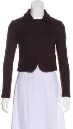 Miu Miu Virgin Wool Casual Jacket
