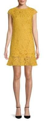 Fishtail Lace Mini Dress