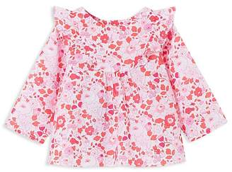 Jacadi Girls' Floral Top - Baby