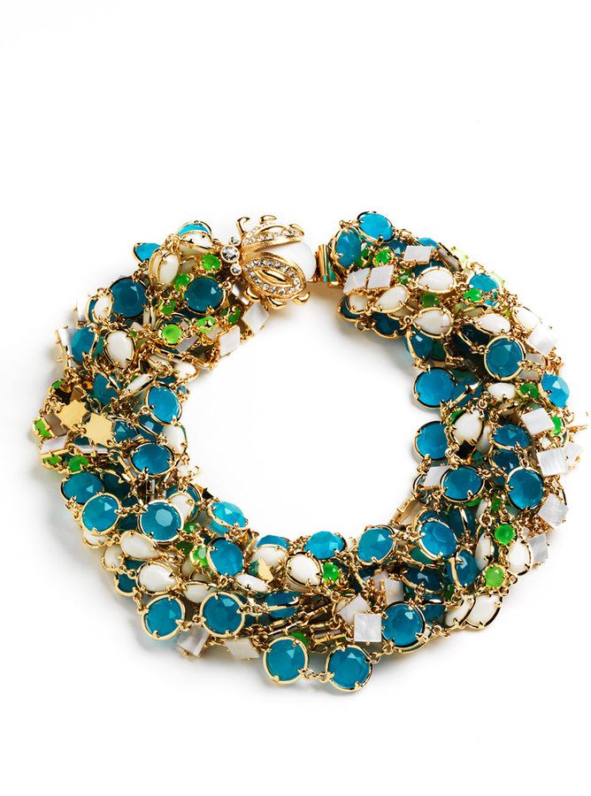 KATE SPADE NEW YORK Caledonia Twisted Necklace