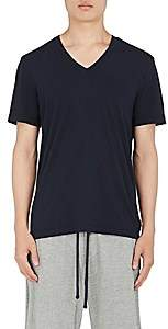 James Perse Men's Cotton Jersey V-Neck T-Shirt-Navy