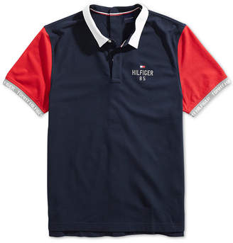 Tommy Hilfiger Adaptive Men's Carl Polo Shirt with Velcro Closure at Back
