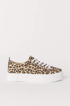 H&M Platform Sneakers - Beige