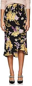 By Ti Mo byTiMo Women's Floral Crepe Wrap Skirt