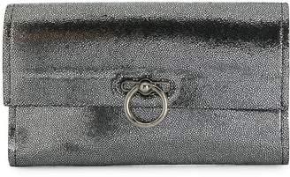 Rebecca Minkoff Jean Metallic Leather Clutch