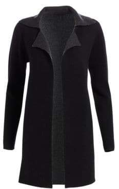 Saks Fifth Avenue COLLECTION Doubleface Wool& Cashmere Sweater Coat