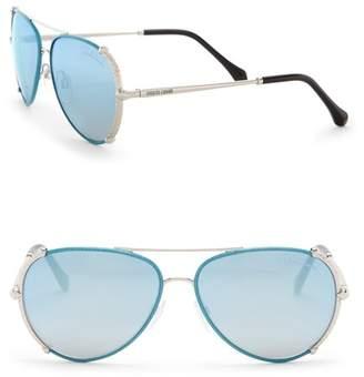 Roberto Cavalli Women's 58mm Aviator Sunglasses