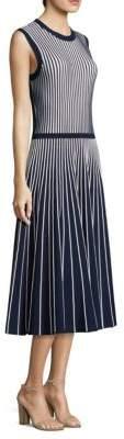 Jason Wu Striped Sleeveless Dress