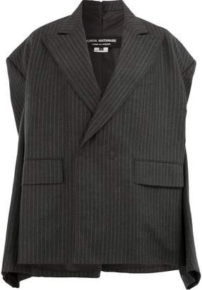 Junya Watanabe pinstripe oversized blazer