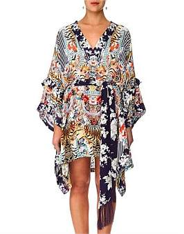 Camilla The Lonely Wild Double Layer Kimono Sleeve Dress