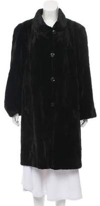 Fur Sheared Mink Coat w/ Tags Black Fur Sheared Mink Coat w/ Tags