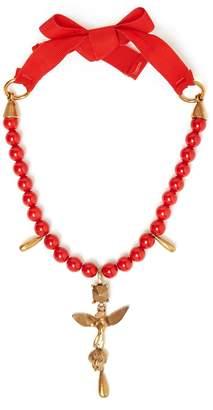 Valentino Bead-embellished necklace