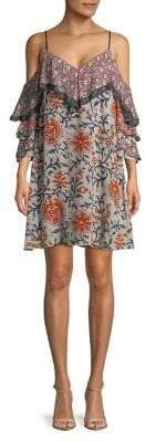 Bailey 44 Floral Cold-Shoulder Dress
