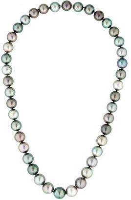 Tiffany & Co. Multicolor Tahitian Pearl Necklace $7,495 thestylecure.com