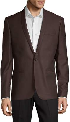 The Kooples Men's Classic Wool Jacket