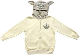 Star Wars Boy's Zip Up Yoda Hoodie, 8