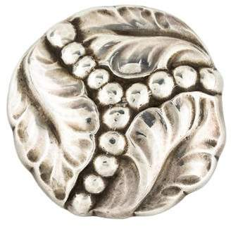 Georg Jensen Leaf Brooch