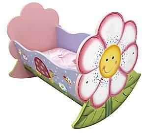 Dacor Teamson Teamson Magic Garden Rocking Doll Bed