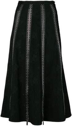 Christopher Kane diamond zip skirt