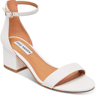 d5139e19db Steve Madden White Heeled Women's Sandals - ShopStyle