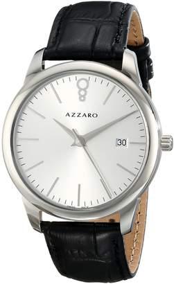 Azzaro Men's AZ2040.12SB.000 Legend Analog Display Swiss Quartz Black Watch
