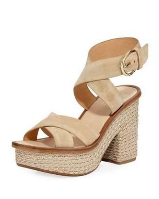 Joie Tanglee Suede Platform Sandals