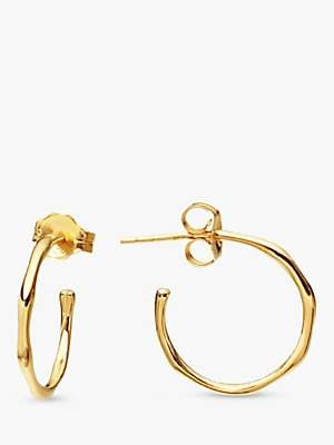 Missoma Molten Mini Hoop Gold Vermeil Earrings, Gold